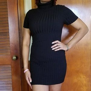 Dresses & Skirts - Black turtle neck dress